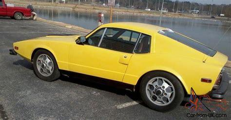 saab sonnett iii 1974 sports car vintage