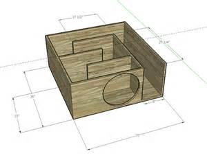 Transmission line subwoofer box for pinterest