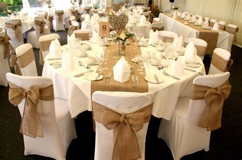 Our hessian runners and chair sashes in full effect at The
