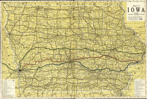 State Of Iowa Records Iowa State Kenyon 1914 Historic Map Reprint