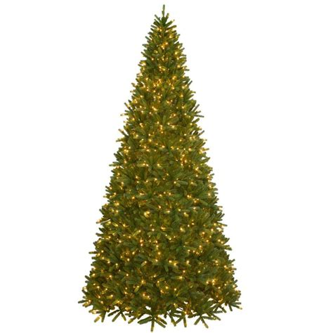 fraser fir pre lit tree national tree company 10 5 ft pre lit feel real fraser