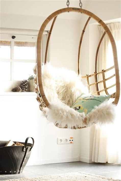 hanging sofa swing zachte vachtjes voor in huis home interior pinterest