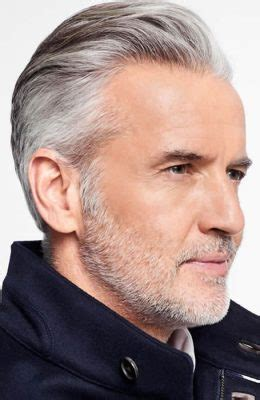 receding hairline plus gray hair the best haircuts for a receding hairline fashionbeans