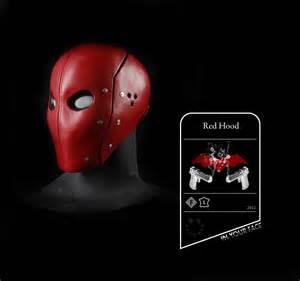smirk masks red hood scifi inspiration pinterest