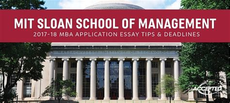 Mit Mba Admission Requirements by Accepted Admissions