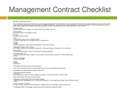 Music Business Artist Management Contracts Artist Management Plan Template