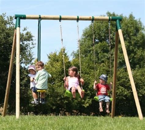 swings for children action galahad triple swing