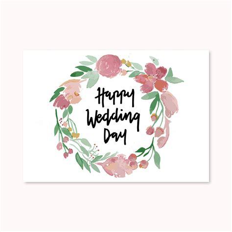 Jual Kartu Ucapan Wedding by Jual 1 Buah Greeting Card Kartu Ucapan Happy Wedding Day