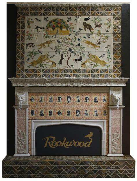 Rookwood Fireplace by A Rookwood Tile Fireplace Cincinnati