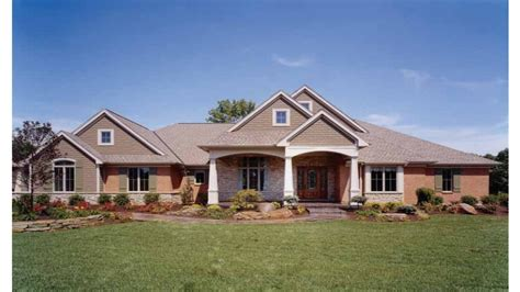 Prairie Style House Design brick and stone homes eplans craftsman house plan brick