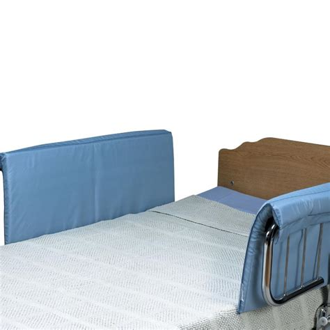 hospital bed pads skil care half size vinyl bed rail pads bed wedges
