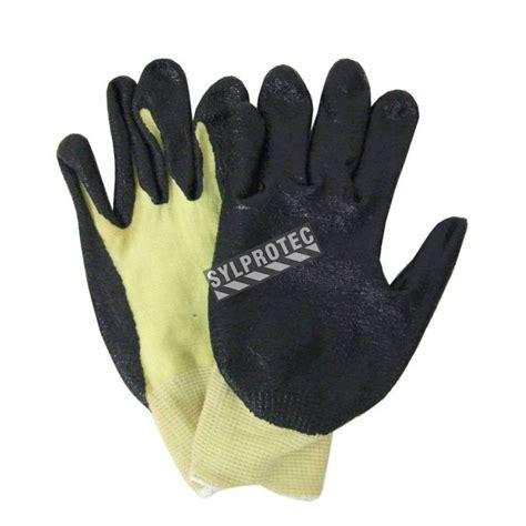 kevlar knit gloves cut resistant kevlar 174 blended knit glove with foam nitrile