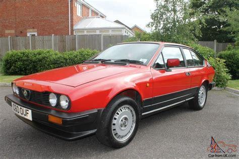classic alfa romeo gtv alfa romeo alfetta 2 0 gtv coupe classic car rhd right