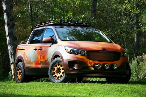 Which Country Makes Kia Cars Kia Brought Four All New Concepts At Sema Celebrating