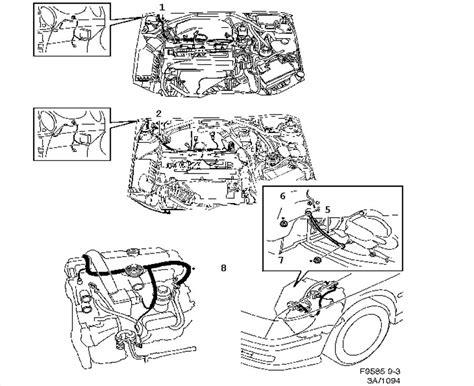 ford f engine diagram auto wiring the saab v saab auto