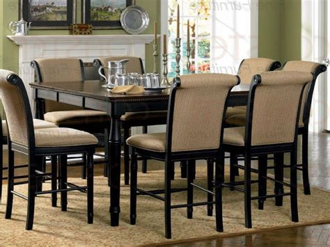 tall dining room table dining room tables height