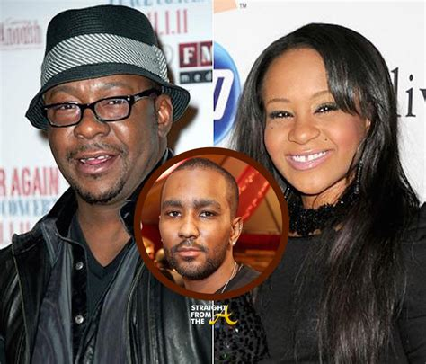 bobbi kristina brown and bobby browns relationship family feud bobby brown responds to nick gordon s request