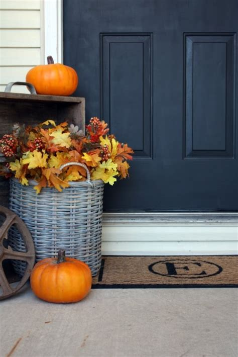 fall decorations for front porch pictures fall front porch decorations for the non crafty