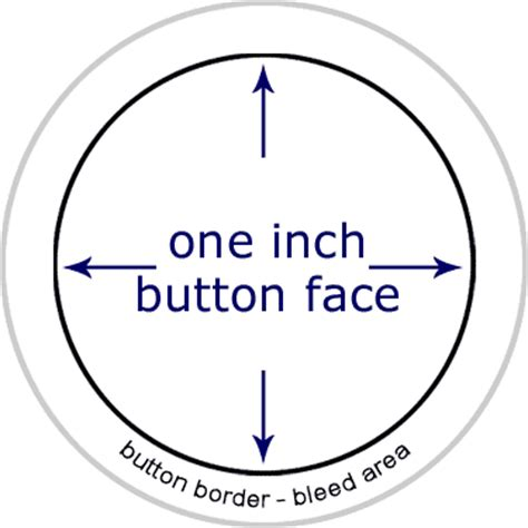 1 inch button template templates nobs buttons