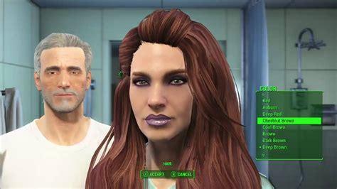 fallout 4 hair color fallout 3 default hair pictures fallout 4 mod showcase
