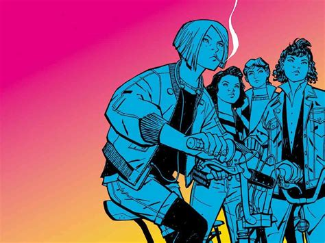 paper girls n 10 brian k vaughan s paper girls is the perfect comic for your 80s nostalgia trip wired