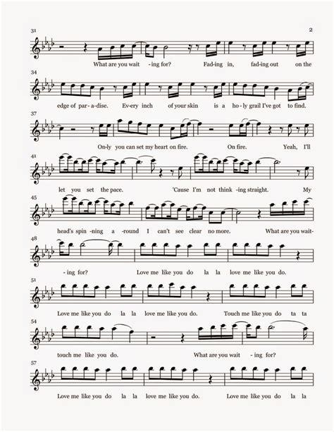 Flat Flow Puth flute sheet me like you do sheet