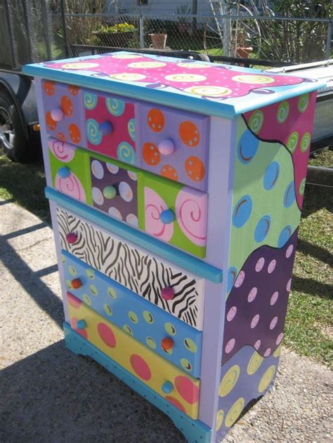 Funky Dresser by For Future Scrapbooking Room Funky Furniture