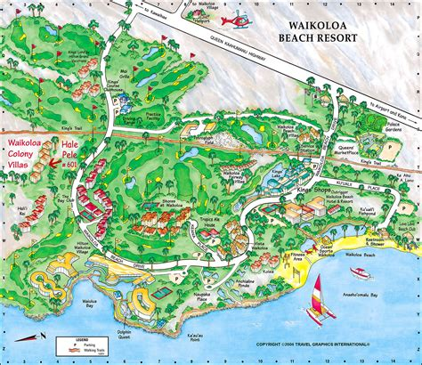 waikoloa resort area map waikoloa resort map hawaii resort rentals