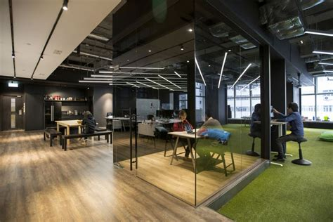 Modern Homes Interior Design And Decorating hong kong warehouse converted to creative office space