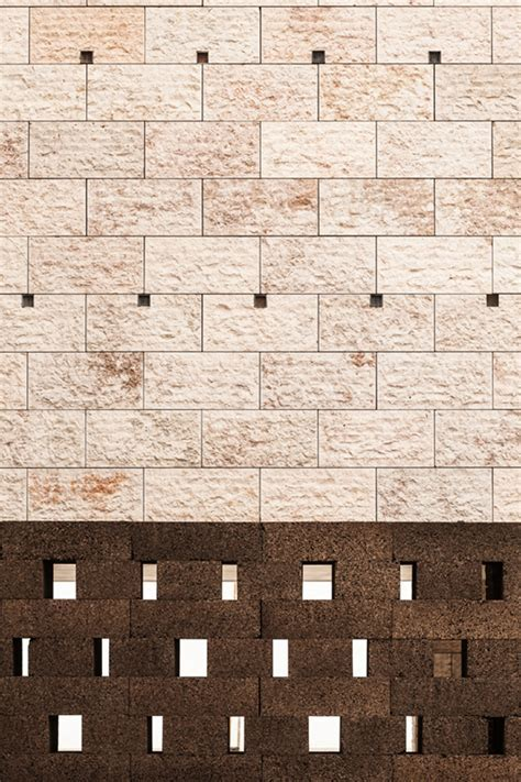 black cork wall by josé neves becomes urban furniture in