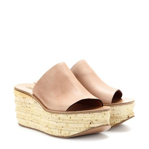 Sandal Chanel Import 22 wedge sandals for every height in the summer 2014