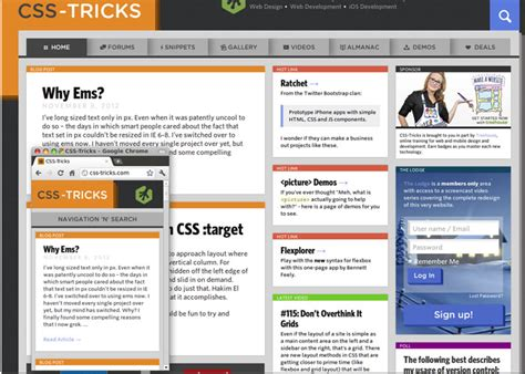 layout css tricks 30 responsive web design exles for inspiration