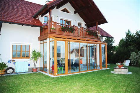 balkon wintergarten balkonverbau glas zum falten sunflex sf 25 inkl