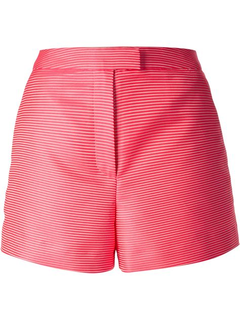 Pink Stripe Shorts From Delias by Lyst Cacharel Stripe Shorts In Pink