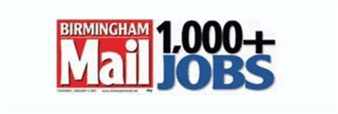 birmingham mail jobs section evening mail jobs online on excite uk