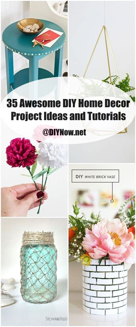 awesome home decor 35 awesome diy home decor project ideas and tutorials