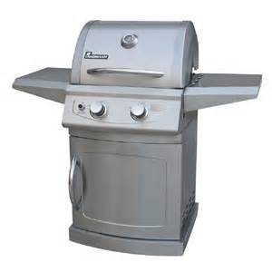 shop landmann usa usa 42204 falcon stainless steel 2 burner liquid propane gas grill at lowes com