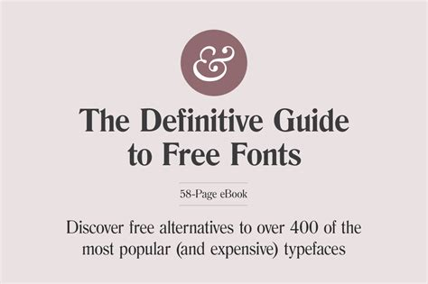 last day the definitive guide to free fonts ebook by