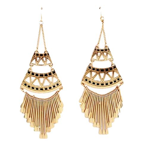 Black And Gold Chandelier Earrings The A Lists Approved Festival To Try At Coachella 2017 Luulla S