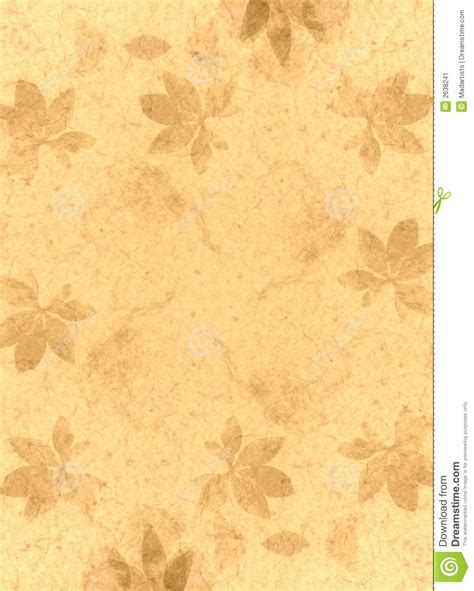 Made Paper - handmade paper texture gold stock illustration image