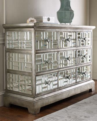Diy Mirrored Dresser Drawers by Richard Collection Quot Gatsby Quot Mirrored Chest