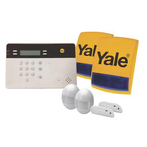 yale wireless premium gsm burglar alarm kit ad alarms