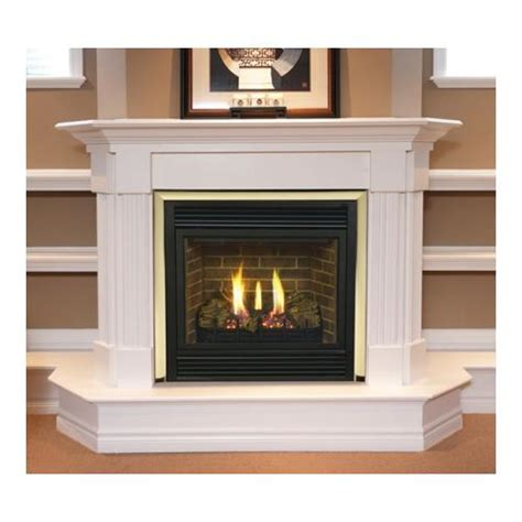 fireplace black for direct vent gas 36 quot walmart