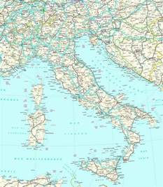 Detailed Map Of Italy geography blog detailed map of italy