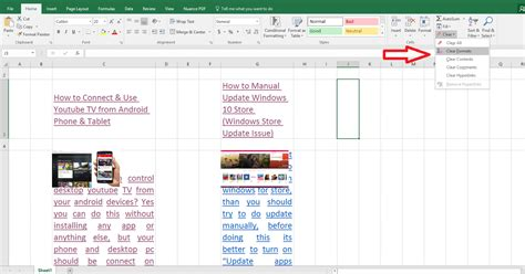 format excel to one page learn new things how to clear excel sheet text format