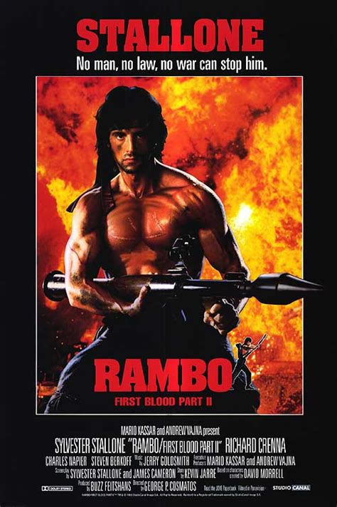 Rambo Film Poster | news neca rambo first blood part 2 figures coming in