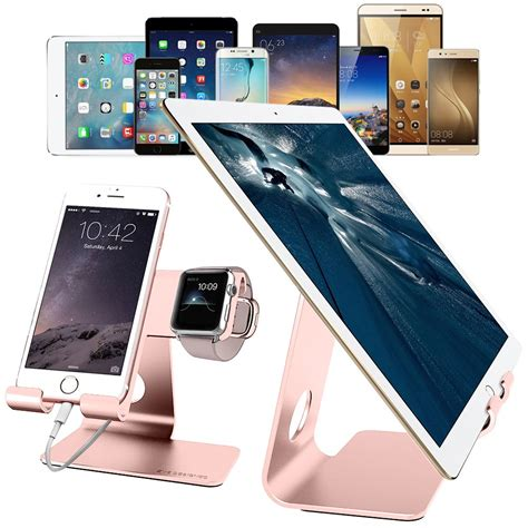 Power 98 3 Giveaway Number - 2 in 1 desktop cell phone iwatch charging stand rose gold zve