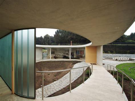 Houses O Circular Concrete Home Plan Modern House Designs