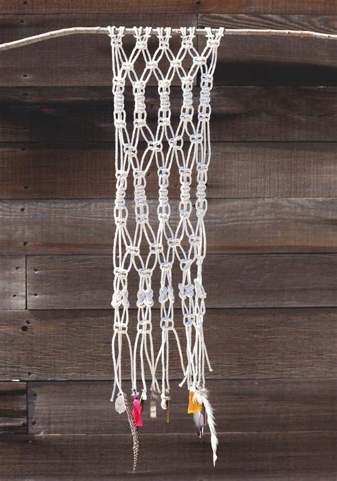 Macrame Wall Hanging Tutorial - organic modern diy to make your own macrame
