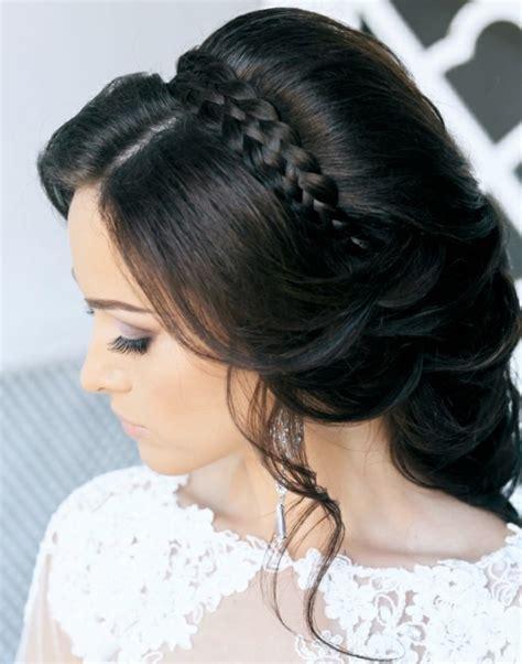 Hochzeitsfrisur Dunkle Haare by Coiffure Pour Mariage Cheveux Longs Id 233 Es Pour Votre Jour J